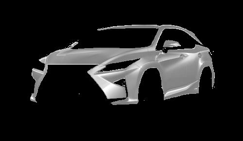 Цвета кузова RX 450h